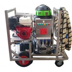 Nettoyeur thermique à eau froide avec aspiration Moby Cline